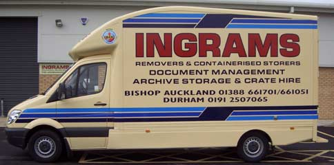 Sprinter 313 CDi assists in rural and remote removals